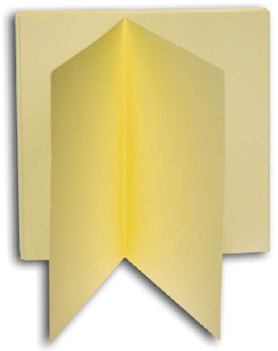 KAART DUBBEL PAPYRUS DESIGN 130X130MM IVOOR 10 Kaart