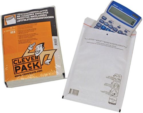 ENVELOP CLEVERPACK LUCHTKUSSEN 13 170X225 WIT 10 Stuk