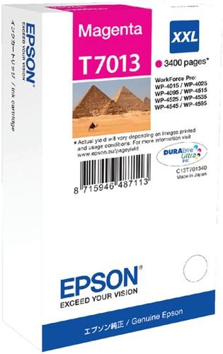 INKCARTRIDGE EPSON T701340 EXTRA HC ROOD 1 Stuk