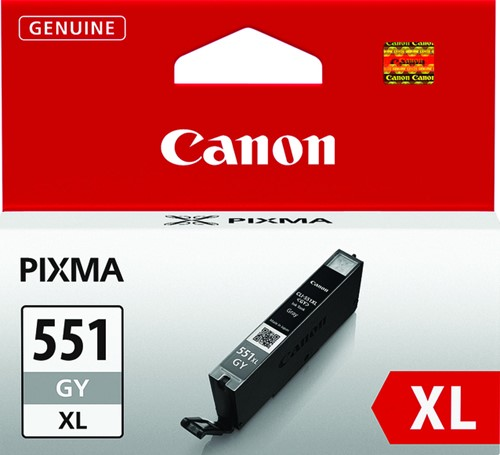 INKCARTRIDGE CANON CLI-551XL HC GRIJS 1 Stuk