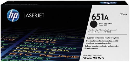 TONERCARTRIDGE HP 651A CE340A 13.5K ZWART 1 Stuk