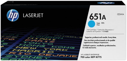 TONERCARTRIDGE HP 651A CE341A 16K BLAUW 1 Stuk